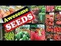 Seeds at Walmart (Seed Shopping)