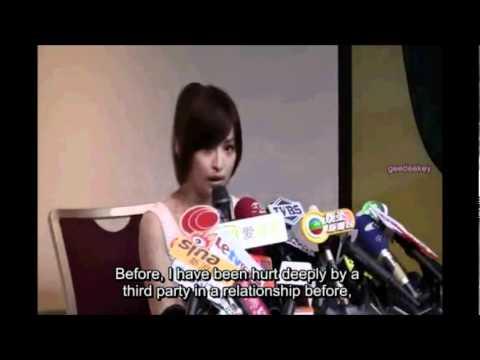 ENG SUB Cyndi Wang explains she isn't a third party