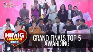 Himig Handog 2018 | Grand Finals Top 5 Awarding