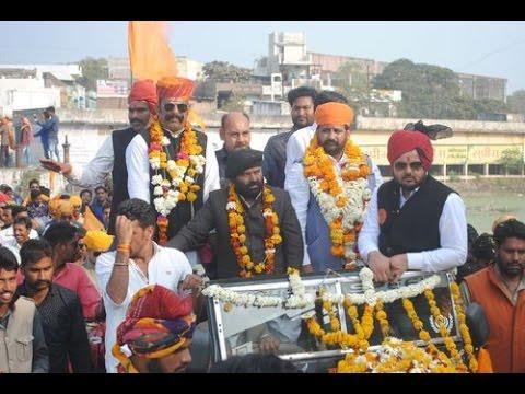 Rajput karni Sena reservation reli 2017 in Jaipur