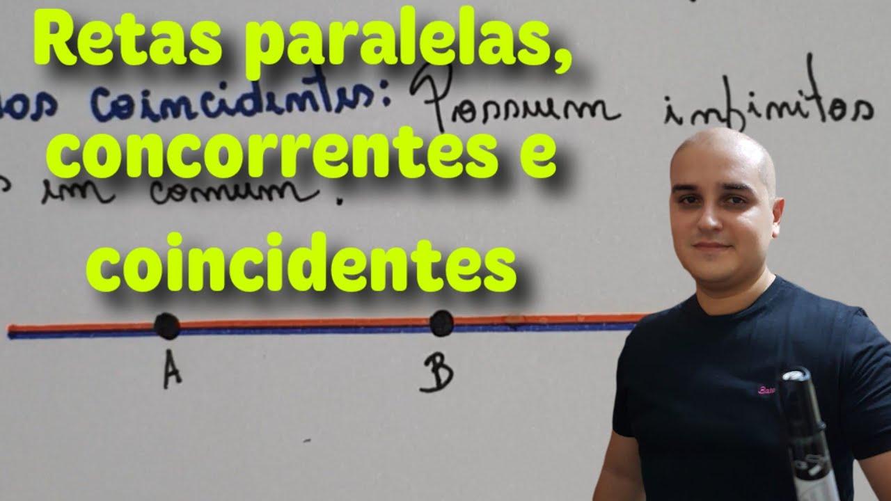 Download Retas paralelas, concorrentes e coincidentes