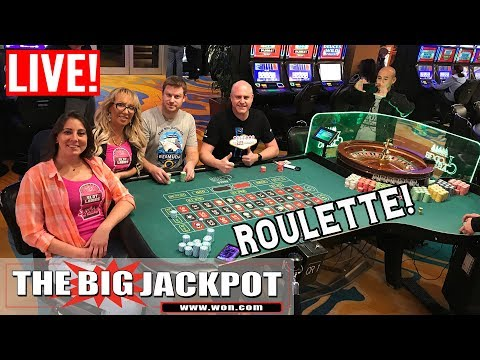Rare Live Roulette And High Limit Slot Play Never Seen | The Big Jackpot