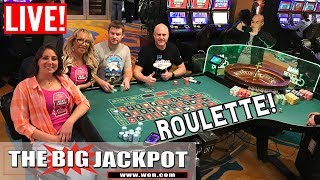 Rare Live Roulette aฑd High Limit Slot Play Never Seen | The Big Jackpot