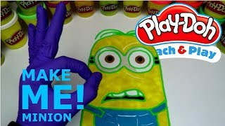 Make A Cute Little Dave From Minions Out Of Play-Doh! l MINIONS