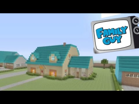 Minecraft - Family Guy | The Griffins' House Re-tour!
