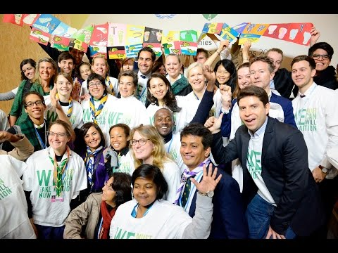 Young and Future Generations Day at COP21 Paris