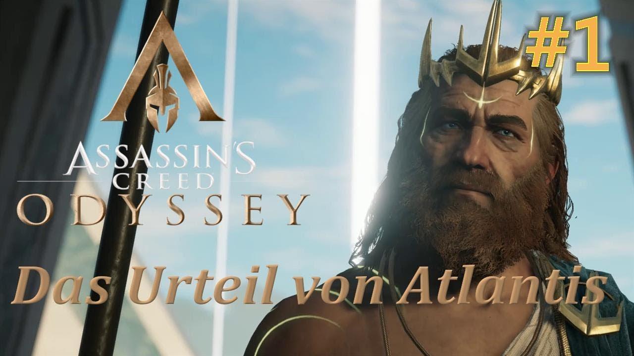 Assassin's Creed  Odyssey Das Schicksal von Atlantis Episode 3 Das Urteil von Atlantis