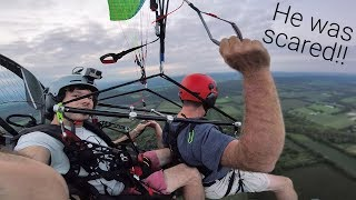 Flying Tandem With My Dad!!!