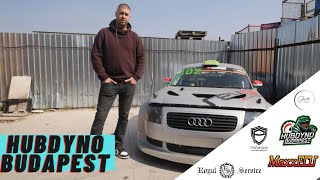 HUBDYNO BUDAPEST - Audi TT Drift Car , 2db HONDA CIVIC TURBO = 1000le? 😱