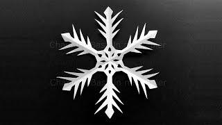 Schneeflocken basteln mit Papier für Weihnachten. Bastelideen Weihnachtssterne. DIY Deko Sterne