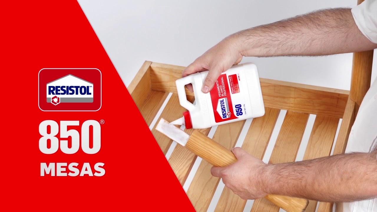 Resistol 850 Profesional El Mejor Aliado De Carpinteros Y Artesanos Youtube