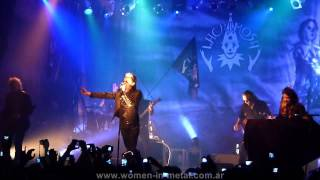 Lacrimosa en Argentina - Intro + Ich bin der brennende Komet @ Teatro Vorterix (25/04/2013)