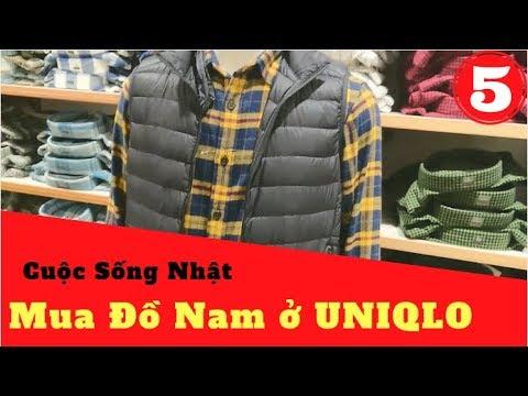 Mua Quần áo Nam ở UNIQLO Nhật Bản | Đồ Nam Mùa Thu ✅Japan Life ✅Vlog#5