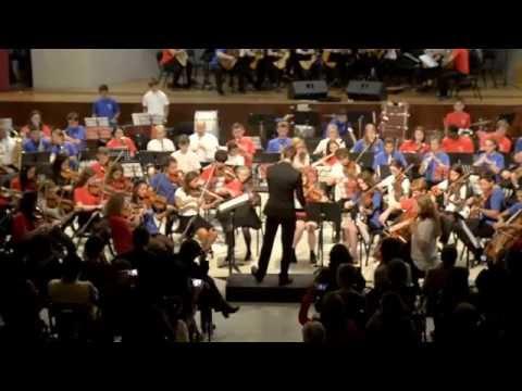 Orquesta HARINGEY YOUNG MUSICIANS en concierto 2015. Part 10