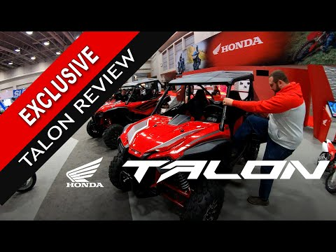 2019 Honda Talon 1000R and 1000X Hands on Review