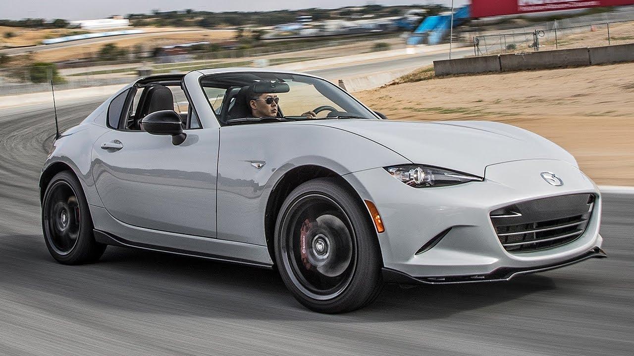 Laguna Seca Raceway >> 2017 Mazda MX-5 Miata RF Club Hot Lap! - 2017 Best Driver's Car Contender - YouTube