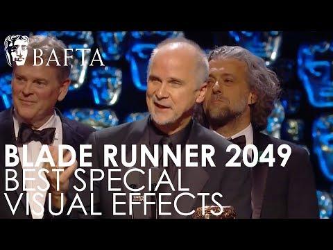 Blade Runner 2049 wins Special Visual Effects award | EE BAFTA Film Awards 2018
