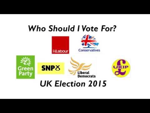 Who Should I Vote For? UK General Election 2015 Voting Guide Video