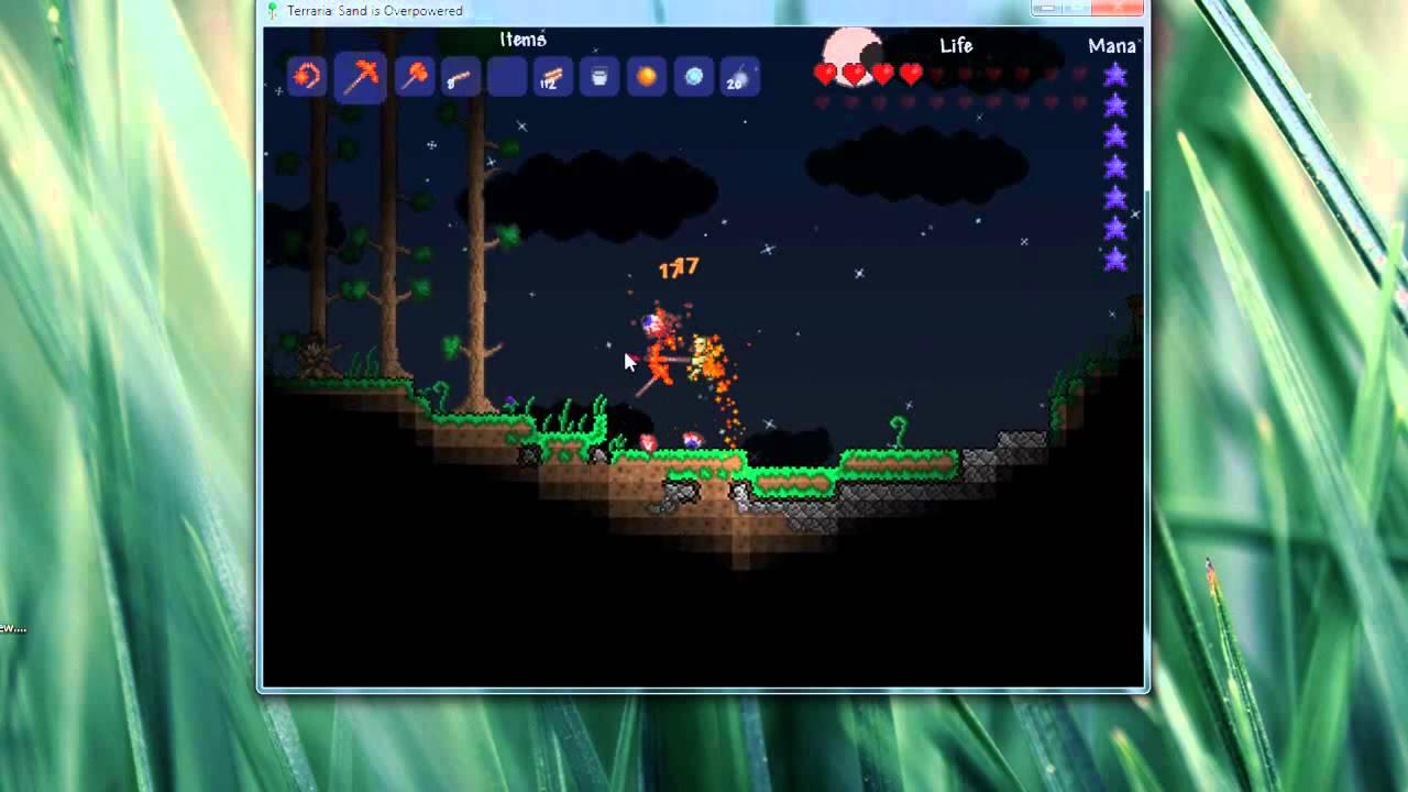 Terraria - Frame skipping! (instant goblin armies, easily farm mob
