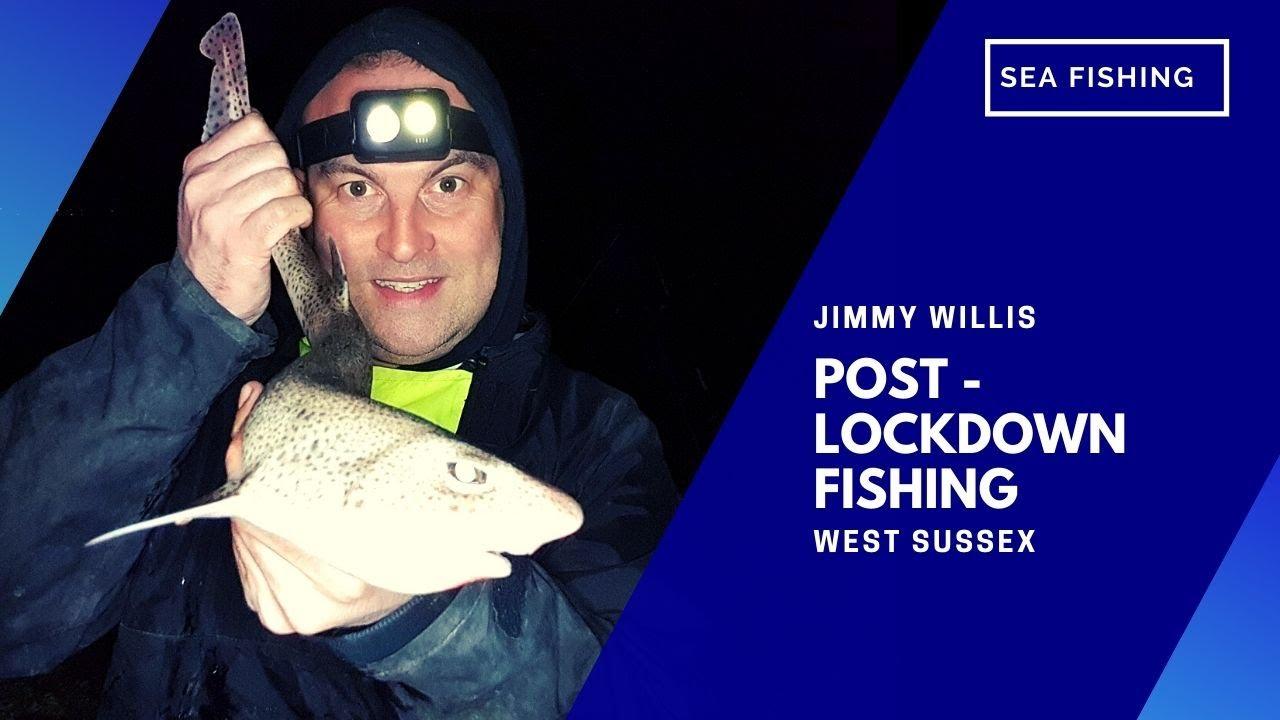 Post-lockdown Beach Fishing