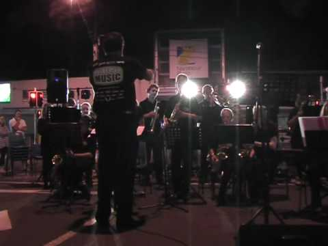 Shake It Up Music All Stars Big band.  Green Onions.  Opening Number