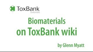 TOXBANK tutorials: Biomaterials ToxBank wiki (cells)