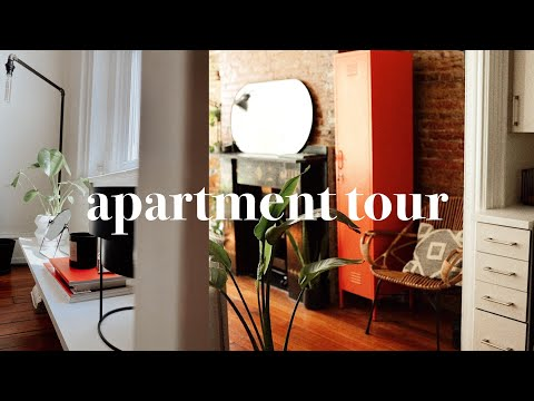 my STUDIO APARTMENT TOUR   Small Space Living