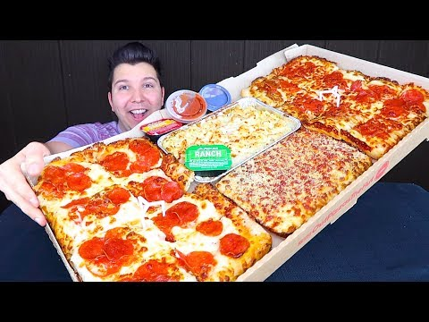Pizza Hut Box • 5,928 Calories • MUKBANG