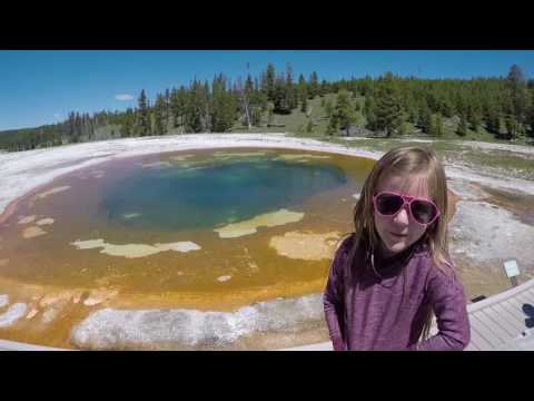 Yellowstone National Park Family Trip 2017 Old Faithful Geyser