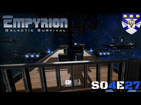 """Empyrion Galactic Survival (S04) -Ep 27 """"Pirate Galleon Conquest"""" -Multiplayer """"Let's Play"""""""