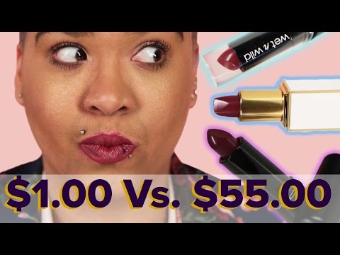 Women Try Cheap Vs. Expensive Lipstick