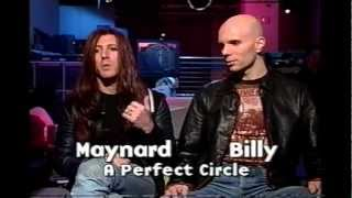 A Perfect Circle Interview (MuchMusic) Roots