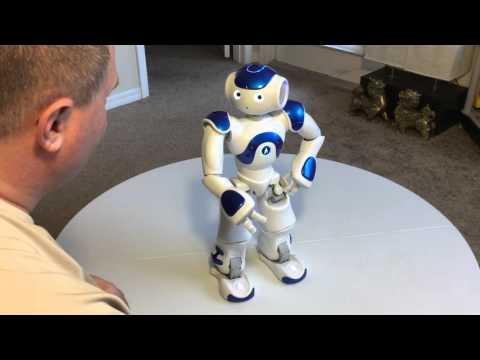 U.A.V Advertising Nao Next Gen Robot