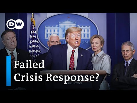 Coronavirus: USA fails to pass emergency aid bill | DW News
