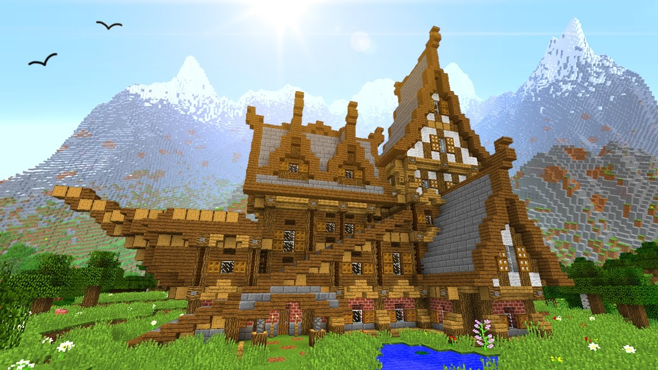 How to build your perfect house in minecraft youtube Build your home