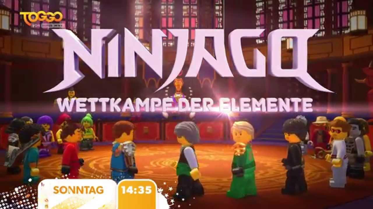 Ninjago Wettkampf Der Elemente Bei Toggo Von Super Rtl Youtube