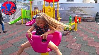ВЛОГ Путешествие на Вершину Горы - Ярослава на Детской Площадке Турецкие Каникулы!