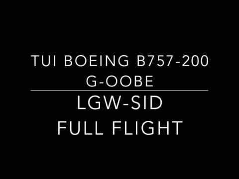 ✈TUI Boeing 757-200 | London Gatwick - Sal (Cape Verde) | Full Flight ✈