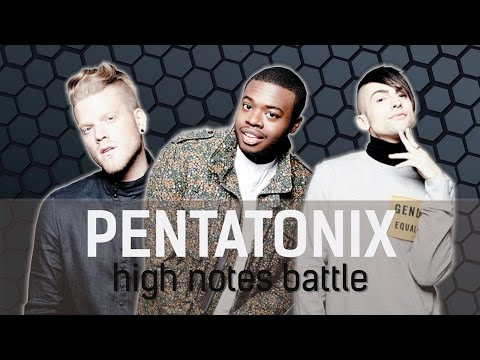Pentatonix - High Notes Battle [G4-B4] [Scott, Kevin, & Mitch]