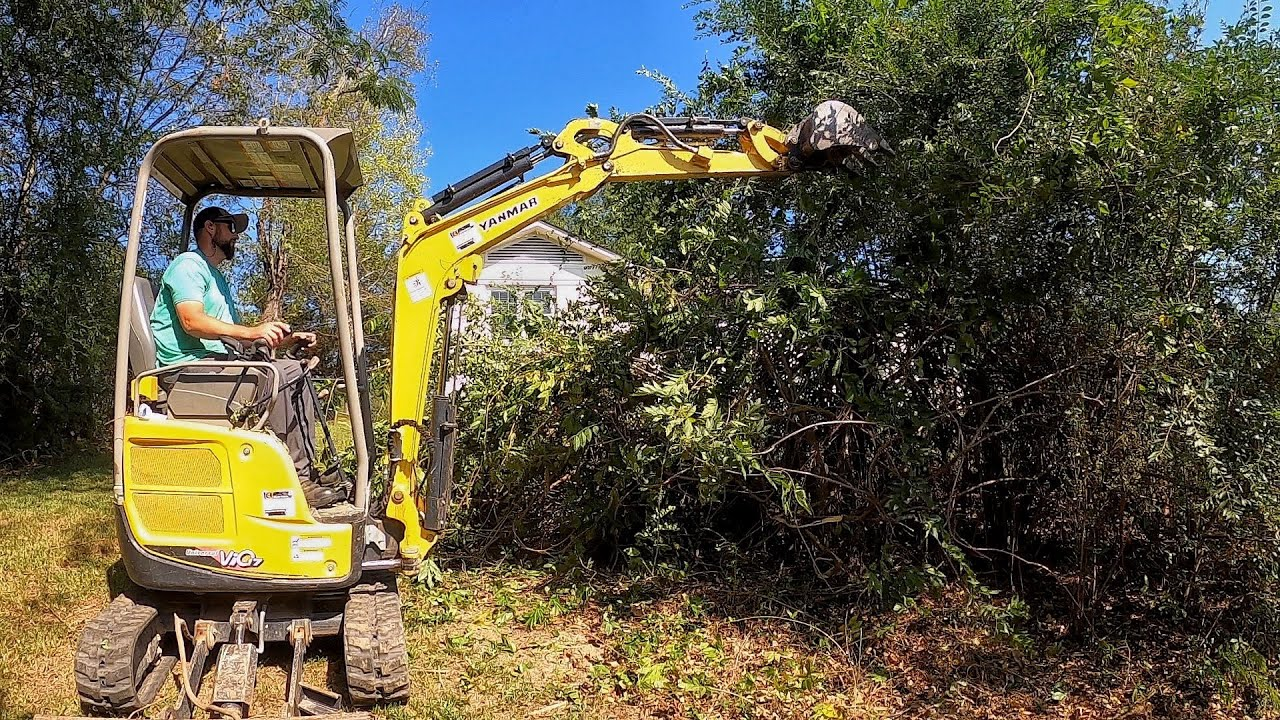 BIG MACHINES Required for this OVERGROWN CLEANUP