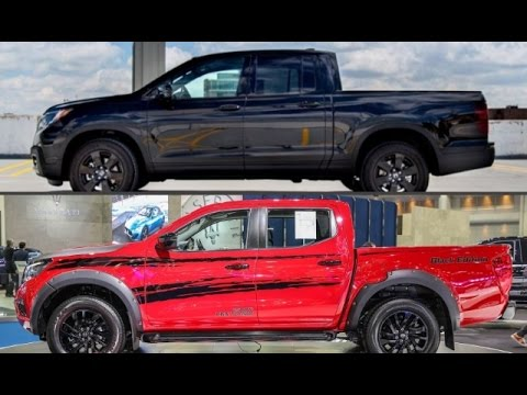 2017 Honda Ridgeline Black Edition vs. 2017 Nissan NP300 ...