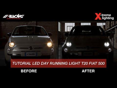 Lampadina Luci Diurne Fiat 500 : Ita] fiat 500 luci di posizione t20 led tutorial montaggio simoni