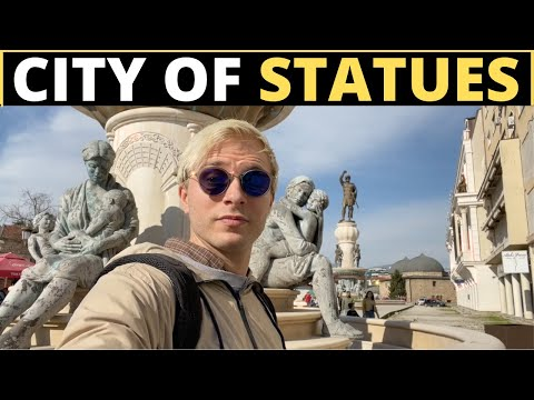 The City of STATUES! (Skopje)