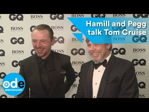 GQ Awards 2017: Mark Hamill and Simon Pegg on Tom Cruise injury