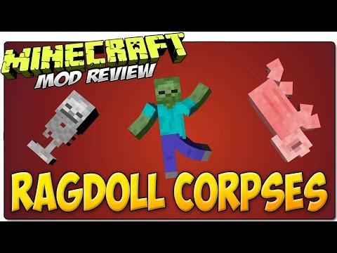 мод на майнкрафт 1 7 10 на ragdoll corpses #7