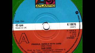SAM DEES  Fragile handle with care 70s Soul