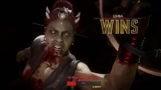 Крутой бой Beast(11уровень) против нашего топа Ed Moon  Mortal Kombat 11