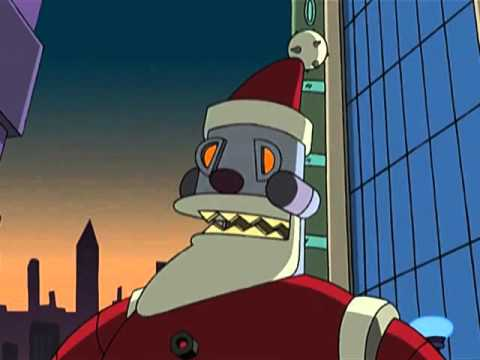 Futurama Christmas Episodes.Futurama Santa Has Something Very Special In His Sack For You Two