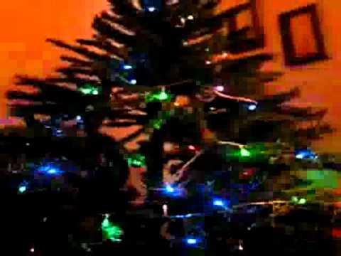 Luces Led para arbol de Navidad 100 led colocadas en zigzag YouTube