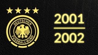Länderspielsaison 2001/2002 - Alle Tore Deutschland